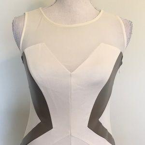 Gianni Bini Dresses - Gianni Bini Faux Leather Body Con Dress Sz 0
